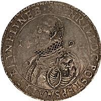 Изображение Монеты Брауншвайг-Вольфенбюттель 1 талер 1590 Серебро VF Генрих Юлий