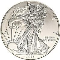 Продать Монеты США 1 доллар 2018 Серебро