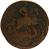 Продать Монеты 1741 – 1761 Елизавета Петровна 2 копейки 1757 Медь
