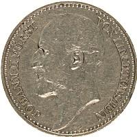 Изображение Монеты Лихтенштейн 1 франк 1924 Серебро XF