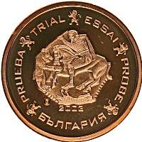 Продать Монеты Болгария 2 евроцента 2003 Бронза