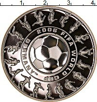 Изображение Монеты  1 доллар 25 центов 2006 Серебро Proof
