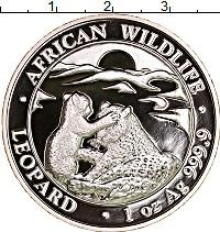 Изображение Монеты Сомали 100 шиллингов 2019 Серебро Proof