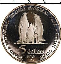 Изображение Монеты Австралия 5 долларов 2014 Посеребрение Proof-