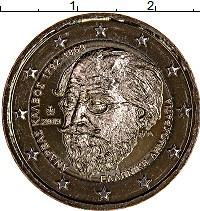 Изображение Мелочь Греция 2 евро 2019 Биметалл UNC