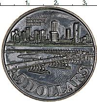 Изображение Монеты Сингапур 5 долларов 1982 Медно-никель UNC-