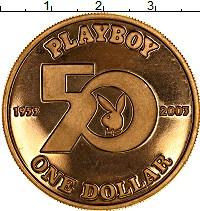 Изображение Монеты Острова Кука 1 доллар 2003 Латунь UNC