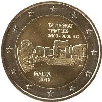 Каталог монет - Мальта 2 евро