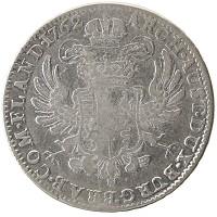 Каталог монет - Австрийские Нидерланды 1 кроненталер