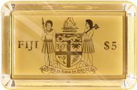 Каталог монет - Фиджи 5 долларов