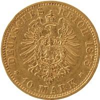 Каталог монет - Гамбург 10 марок