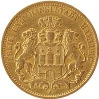 Каталог монет - Гамбург 20 марок