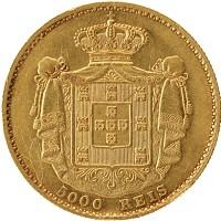Каталог монет - Португалия 5000 рейс