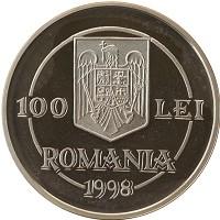 Каталог монет - Румыния 100 лей