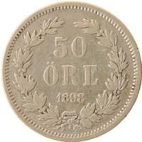 Каталог монет - Дания 50 эре