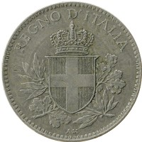 Каталог монет - Италия 20 сентим