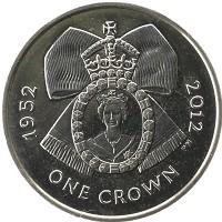 Каталог монет - Аскенсион 1 крона