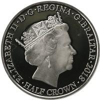 Каталог монет - Гибралтар 1/2 кроны