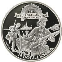 Каталог монет - Кирибати 10 долларов
