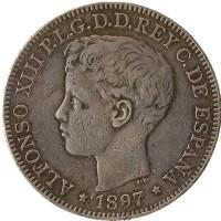 Каталог монет - Филиппины 1 песета