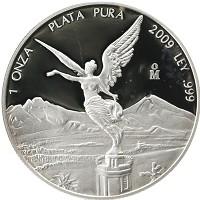 Каталог монет - Мексика 1 унция
