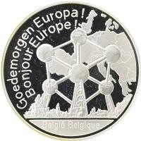 Каталог монет - Бельгия 1 унция