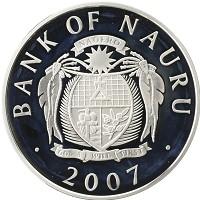 Каталог монет - Науру 5 долларов