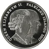 Каталог монет - Фолклендские острова 1 крона