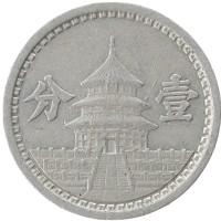 Каталог монет - Маньчжурия 1 фен