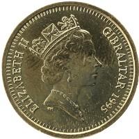 Каталог монет - Гибралтар 1 фунт