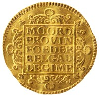 Каталог монет - Нидерланды 1 дукат