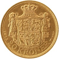 Каталог монет - Дания 20 крон