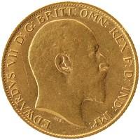 Каталог монет - Великобритания 1/2 соверена