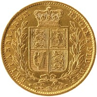 Каталог монет - Великобритания 1 соверен