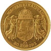 Каталог монет - Венгрия 20 крон