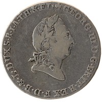 Каталог монет - Брауншвайг-Люнебург-Каленберг-Ганновер 2/3 талера