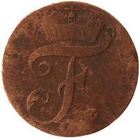 Каталог монет - Саксен-Альтенбург 1 пфенниг