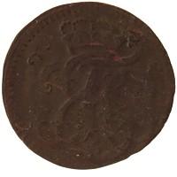 Каталог монет - Саксония 1 геллер