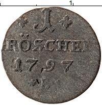 Каталог монет - Силезия 1 грошель