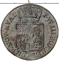Каталог монет - Ньюшатель 1 крейцер