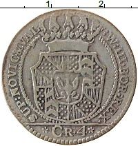 Каталог монет - Ньюшатель 4 крейцера