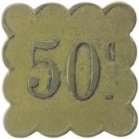 Каталог монет - Франция 50 сантим