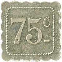 Каталог монет - Франция 75 сантим