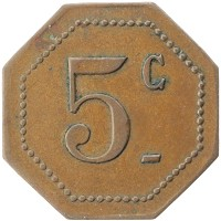 Каталог монет - Франция 5 сантим
