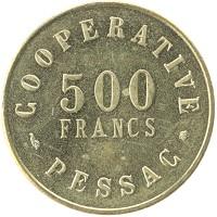 Каталог монет - Франция 500 франков