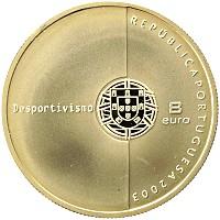 Каталог монет - Португалия 8 евро