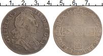 Изображение Монеты Великобритания 1 крона 1695 Серебро  Вильгельм III