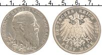Изображение Монеты Баден 5 марок 1902 Серебро  Фридрих Грозергоф
