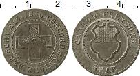 Изображение Монеты Европа Швейцария 1/2 батзена 1830 Серебро