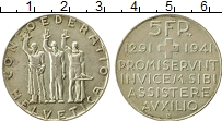 Изображение Монеты Швейцария 5 франков 1941 Серебро